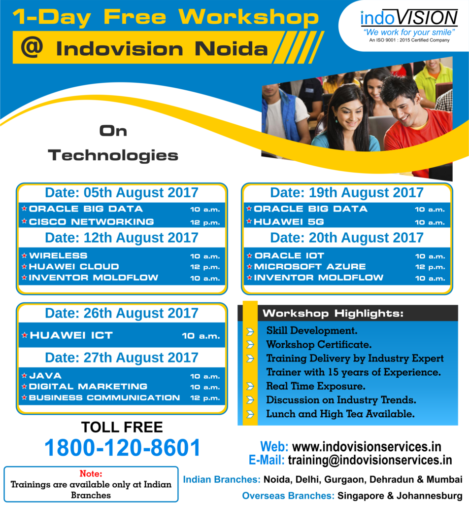 Indovision Workshop and Webinars
